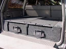 Another Storage Option Suv Storage 4runner Truck Storage