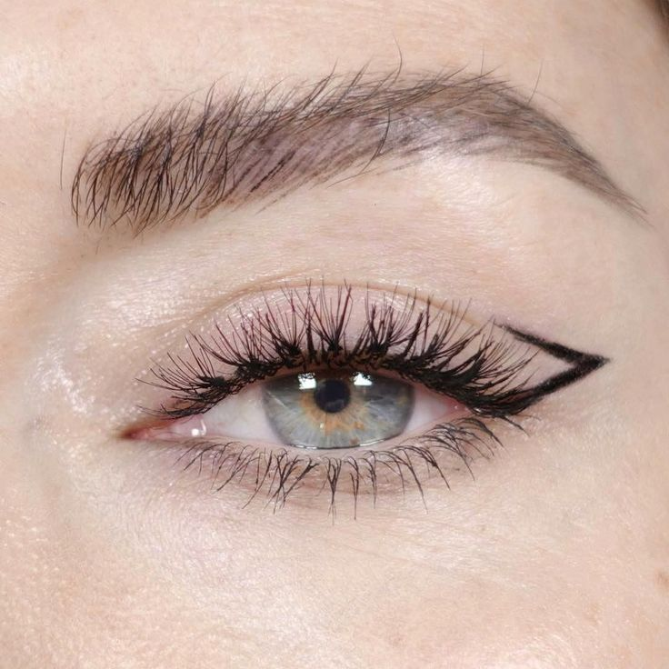 Photo of @KatieJaneHughes makeup eye eyebrow eyeliner creative alternative unique black e