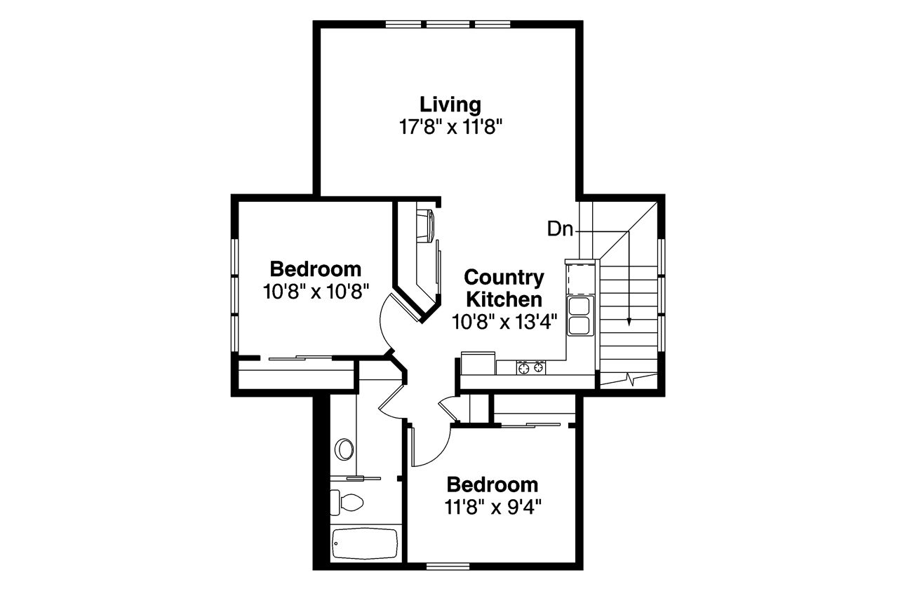 1 bedroom loft apartment   Floor Plan Upper Level  Garage ideas  Pinterest  Garage