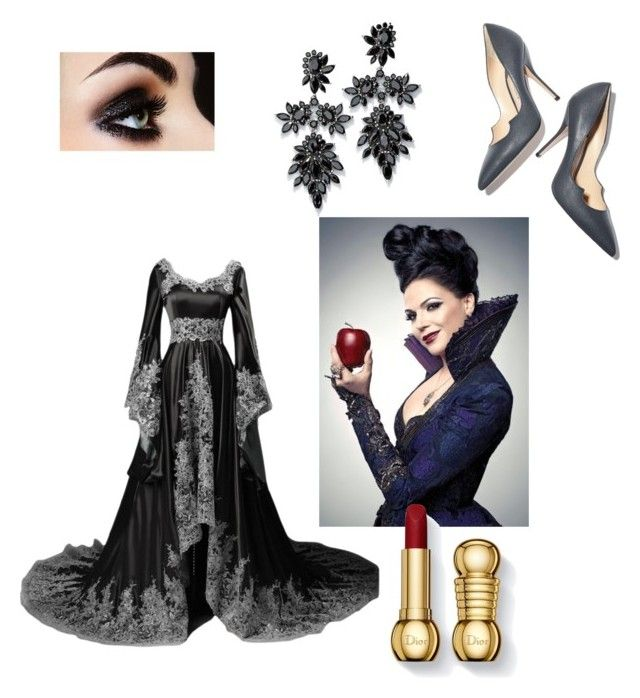 """Ouat Regina"" by musiclover0702 on Polyvore featuring Paul Andrew and Fallon"