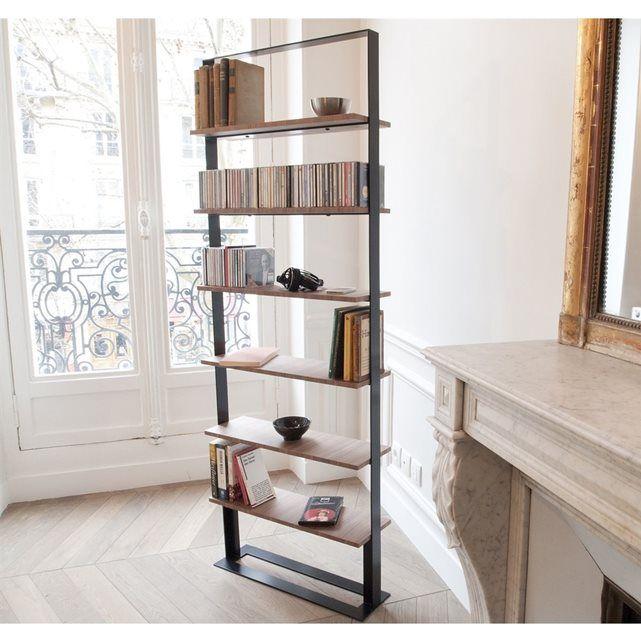 Bibliothèque design acier et bois Séverin 2 Design, Alex o