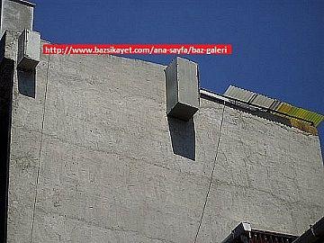 duvar yuzeyine gizlemeli gsm anten montaji / baz istasyonu | www.bazsikayet.com