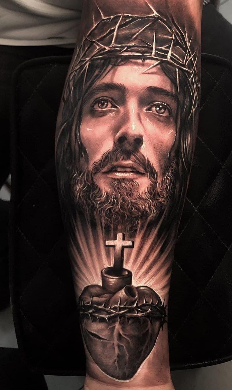 Tatuagens Religiosas Confira As 80 Melhores Inspirações Eu Amo Tatuagens Christ Tattoo Heaven Tattoos Jesus Tattoo