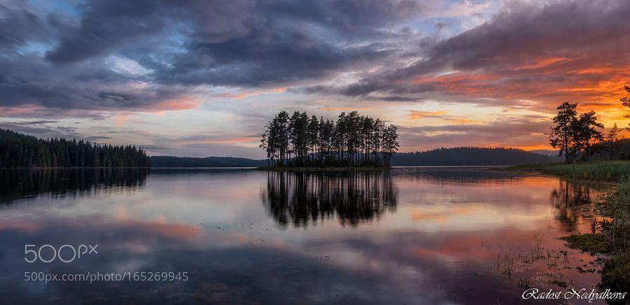 Sunset @ Shiroka polyana by RadostNedyalkova. Please Like http://fb.me/go4photos and Follow @go4fotos Thank You. :-)