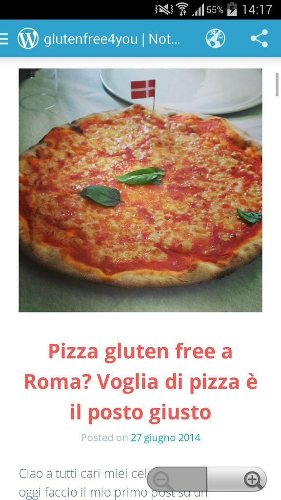www.glutenfree4you.wordpress.com  #review #pizza
