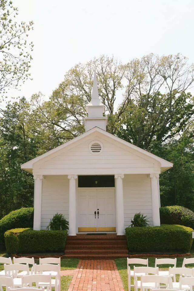 1857 Wedding Chapel At Roseland Plantation Venue Near Tyler Texas