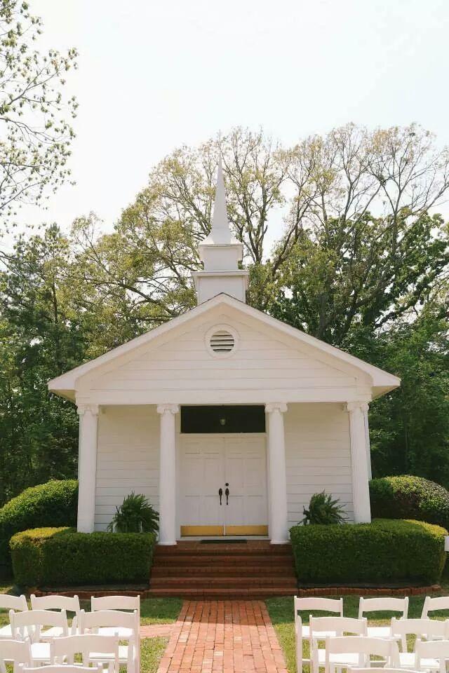 1857 Wedding Chapel At Roseland Plantation Venue Near Tyler Texas