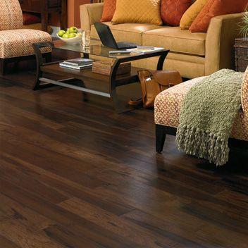 Love dark hardwood floors Home is where the heart is Pinterest