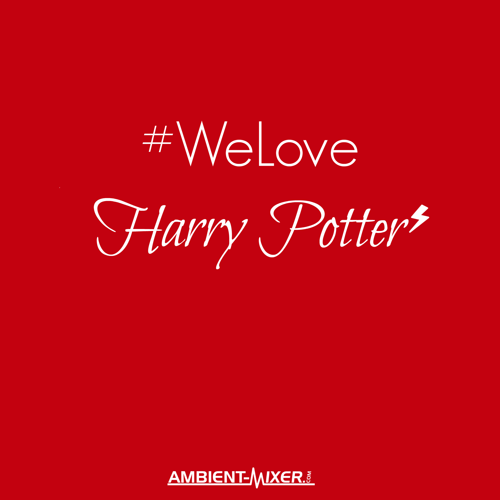 Ambient Mixer welove – harry potter ⚡ listen to all sorts of #harrypotter