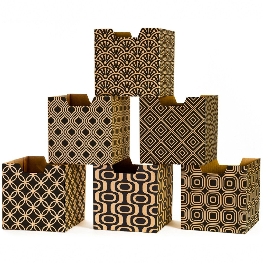 Modern Patterns Kids Storage Bins Sprout Creativo