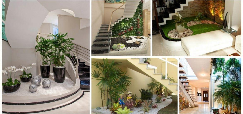 44 Stunning Ideas For Under Stair Garden Daily Home List Small Garden Under Stairs Under Stairs Inside Garden