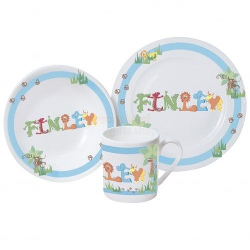 Personalised Childrens Breakfast Set - Blue or Pink from Personalised Gifts Shop - ONLY £29.35  sc 1 st  Pinterest & Personalised Childrens Breakfast Set - Blue or Pink from ...