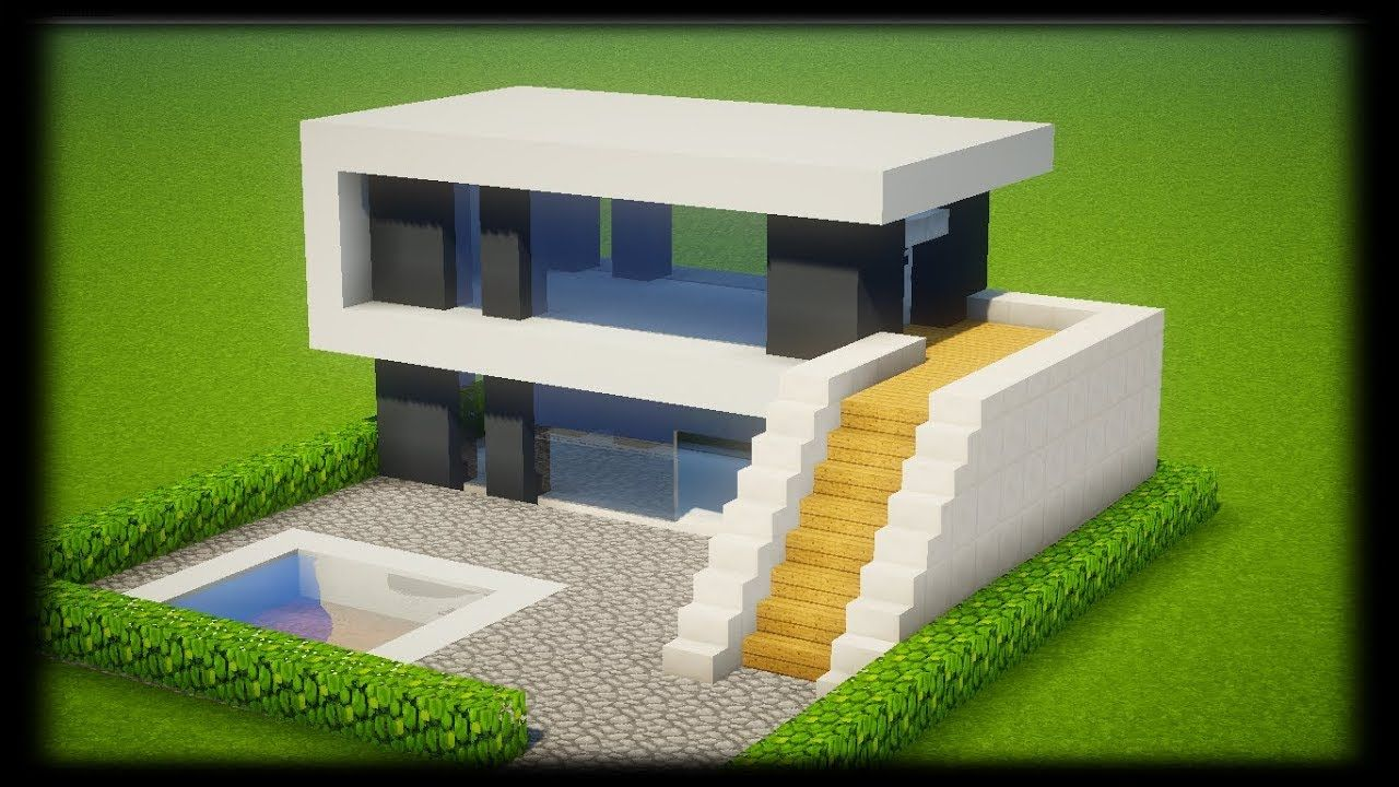 Image De Maison Moderne Minecraft Idees
