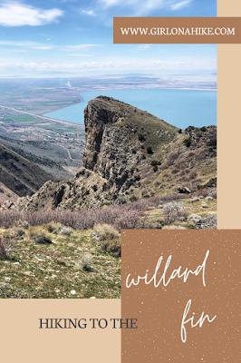Girl On A Hike Hiking To The Willard Fin In 2020 Night Hiking Hiking Utah National Parks Road Trip