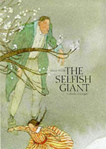 Selfish Giant (A Michael Neugebauer Book) by Oscar Wilde, http://www.amazon.com/dp/1558582932/ref=cm_sw_r_pi_dp_2Uo8qb1D6N2EN