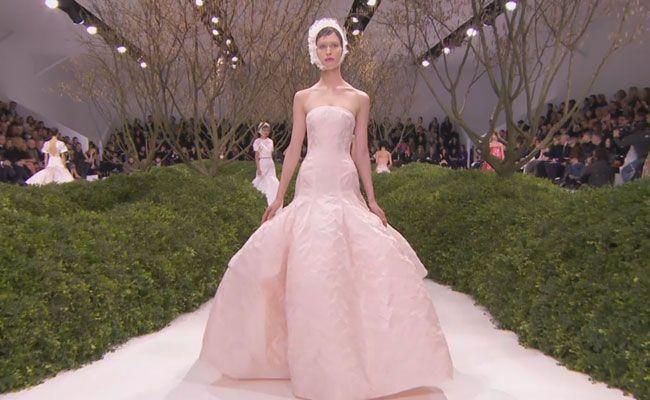 Paris Haute Couture Fashion Week: Christian Dior Spring Summer 2013 | Grazia Fashion