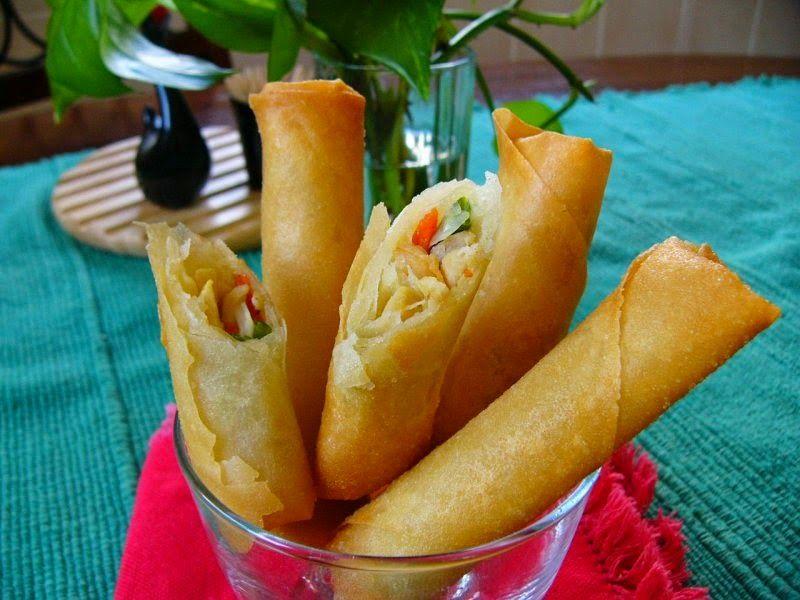 Resep Lumpia Sayuran Lumpia Food Indonesian Food