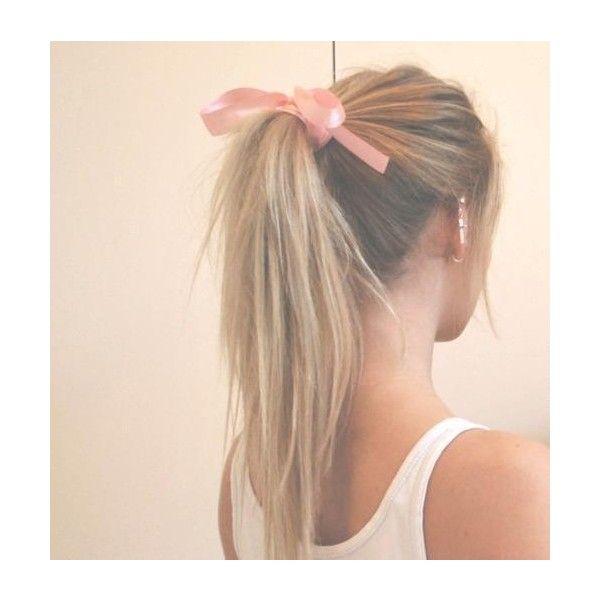 6 Easy Ribbon Hairstyles Ribbon Hairstyle Hair Styles Short Hair Styles Easy