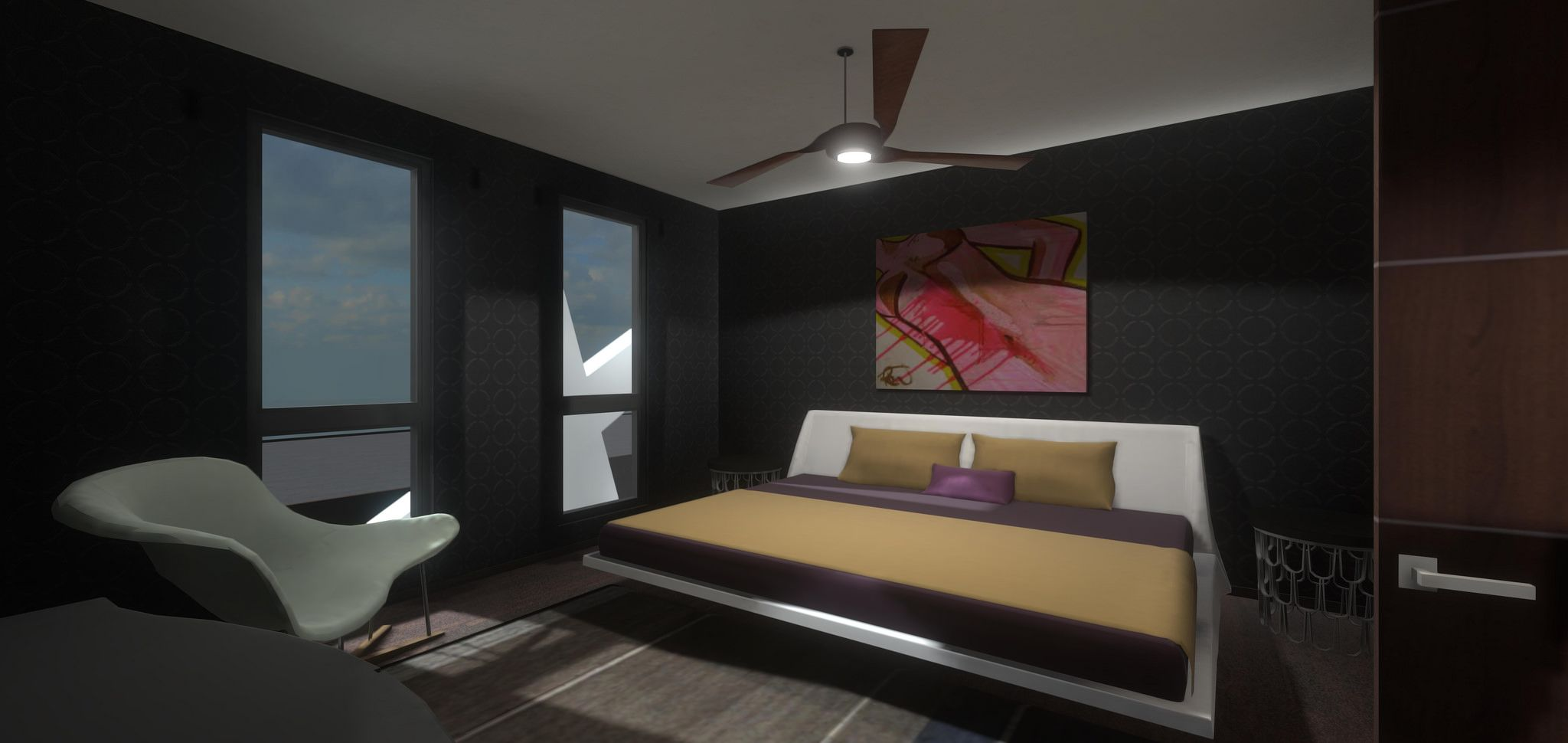 interior design in virtual reality via unity game engine and oculus rift for realtime 3d. Black Bedroom Furniture Sets. Home Design Ideas