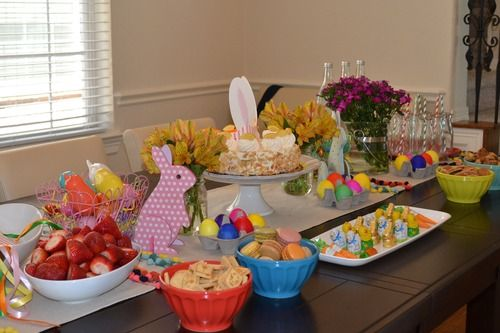easter party - merienda de pascua