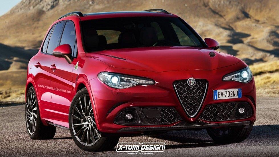 Alfa Romeo Suv 2016 Rendering Foto 6 8 Allaguida