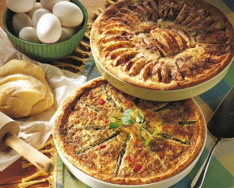 Vegetable Pies.