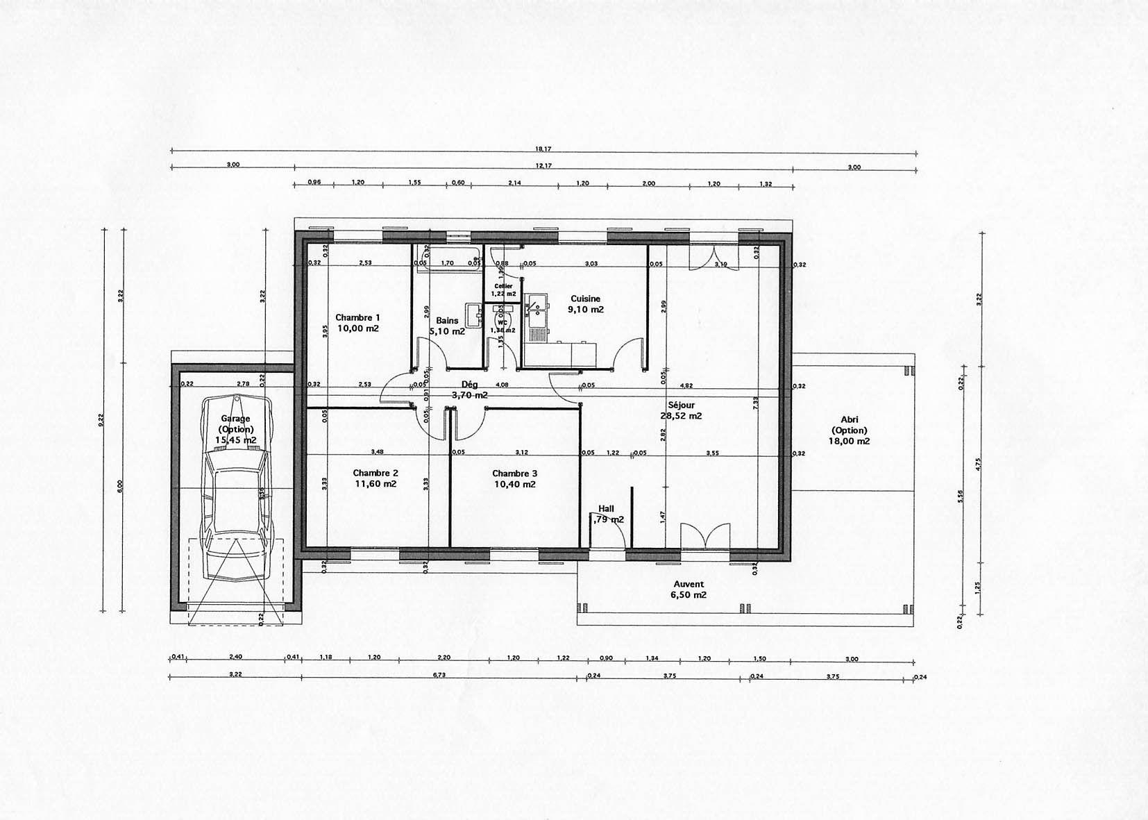 Plan De Maison Moderne Maison Mana Plan Maison 10