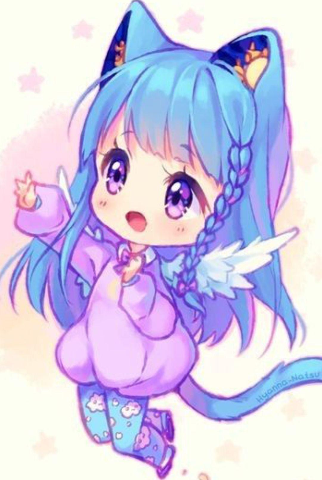 Pin By Pipsqueek On Digital Art Cute Anime Chibi Chibi Girl Chibi