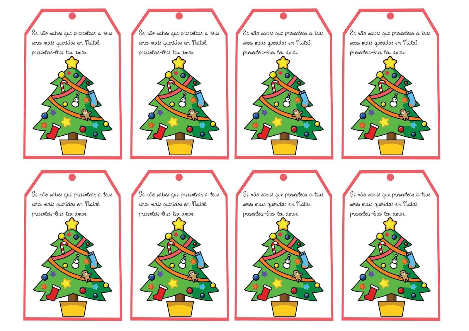 Cartoes De Natal Com Mensagens Natalinas Para Imprimir Mensagens