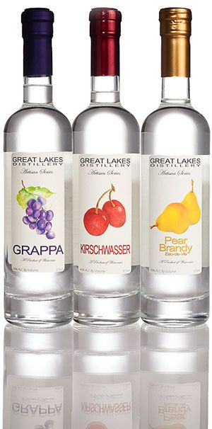 Grappa, Pear, or Aged Apple.