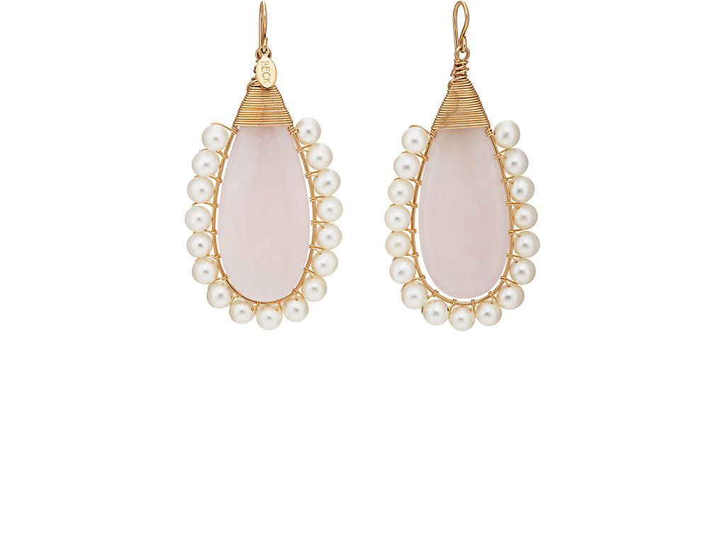 Beck Jewels Womens Swarovski-Pearl Mismatched Drop Earrings d9unYyL
