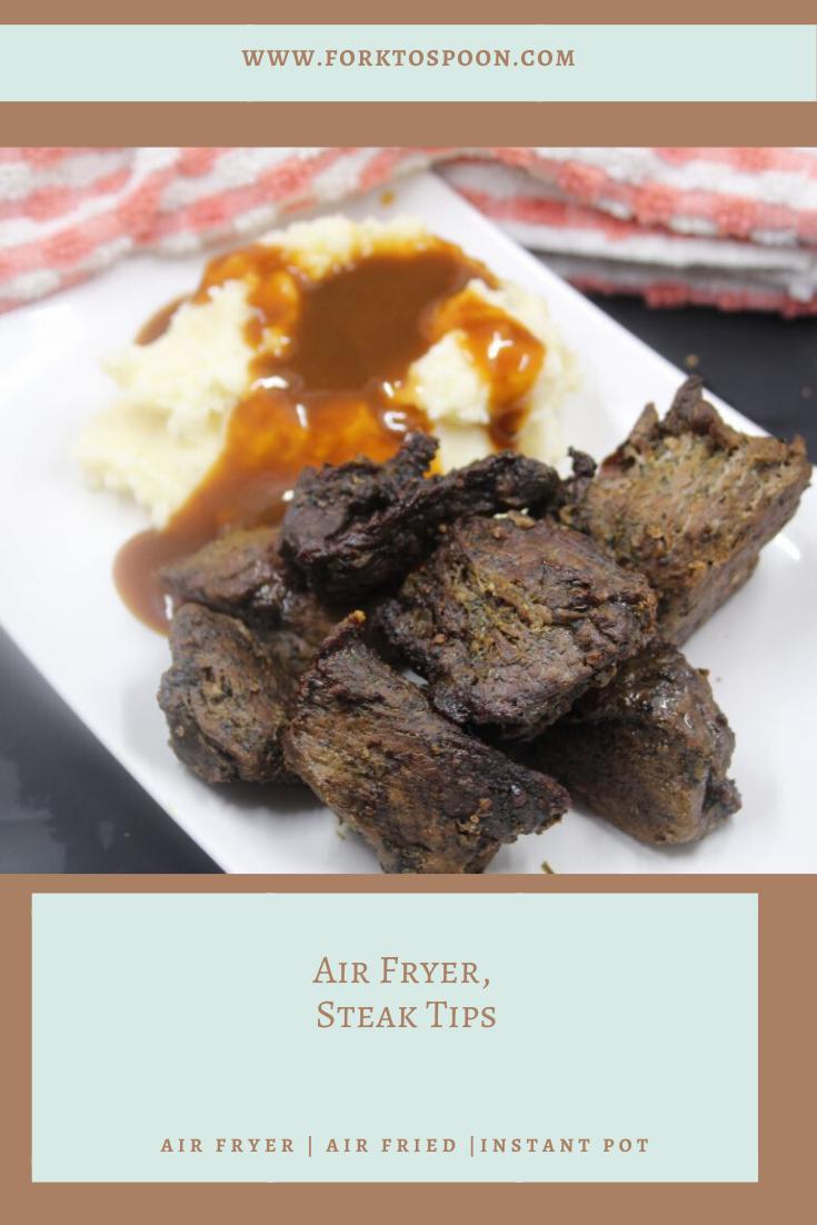 Air Fryer Steak Tips Recipe Steak Tips Steak Steak Bites