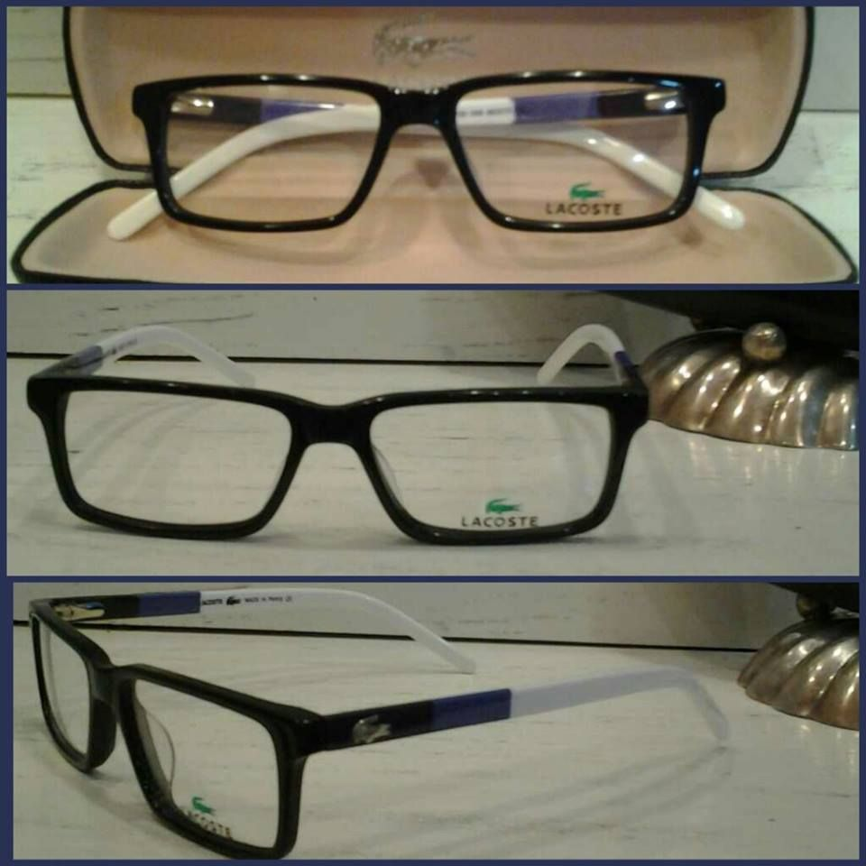 شنبر لاكوست Lacoste يوني هاي فرست كوبي أفضل جودة السعر الرائج 300 ج م سعر إفرست للنظارات 250 ج م Square Glass Glass Glasses