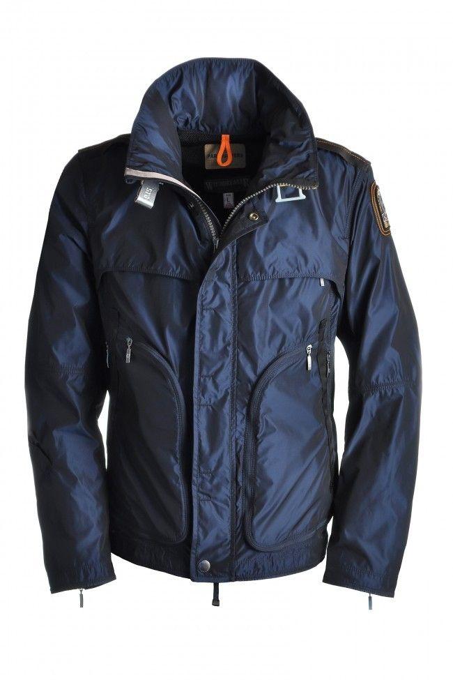 parajumpers mens echo jacket blue black