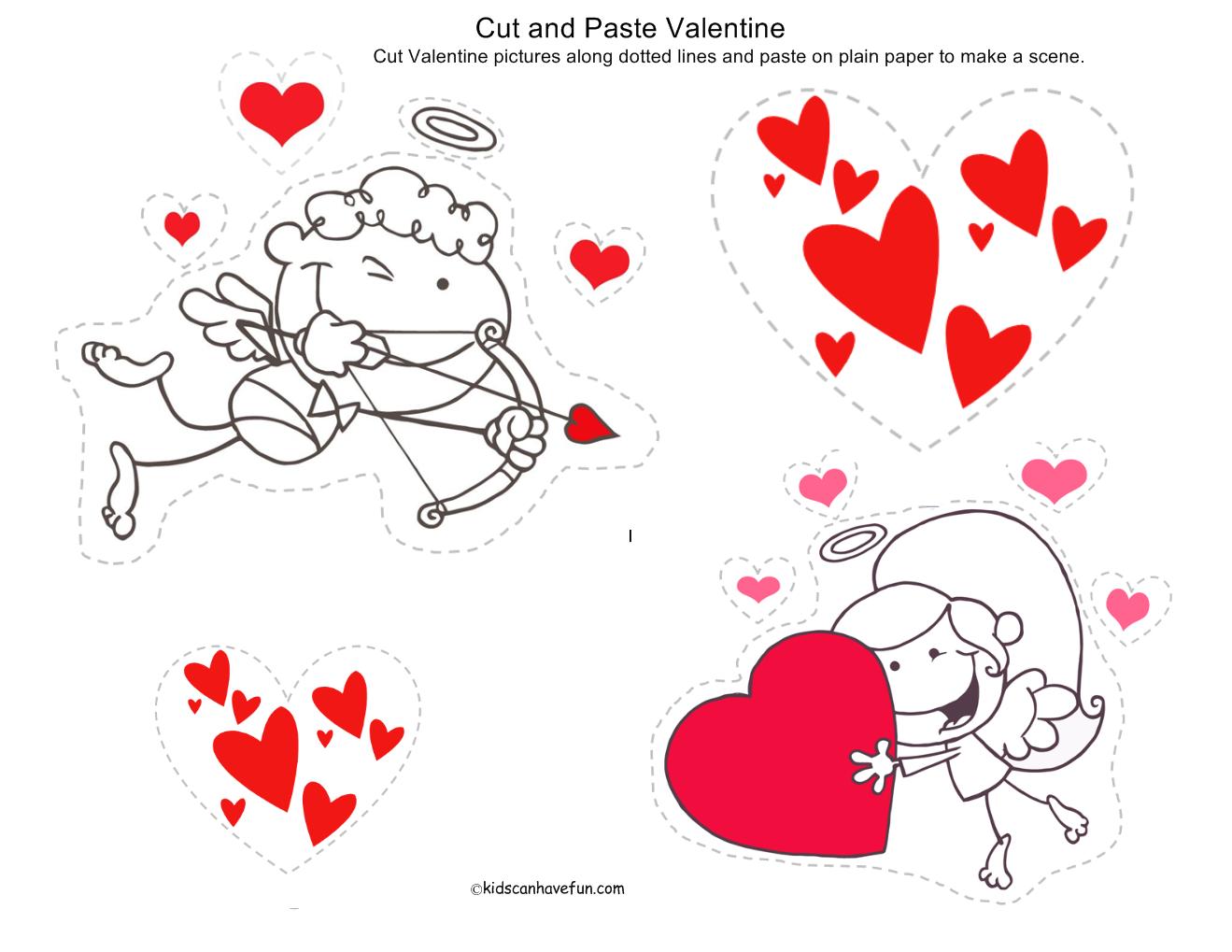 Valentine Day Free Printables Kids Valentines. Be Sociable Share ...