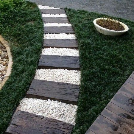 Photo of 60 affordable path and walkway ideas for your garden 15 »AERO.DREAMS