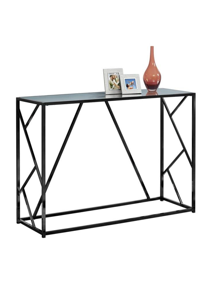 Cool Mirrored Top 42 Inch Console Table A Living Room In 2019 Machost Co Dining Chair Design Ideas Machostcouk