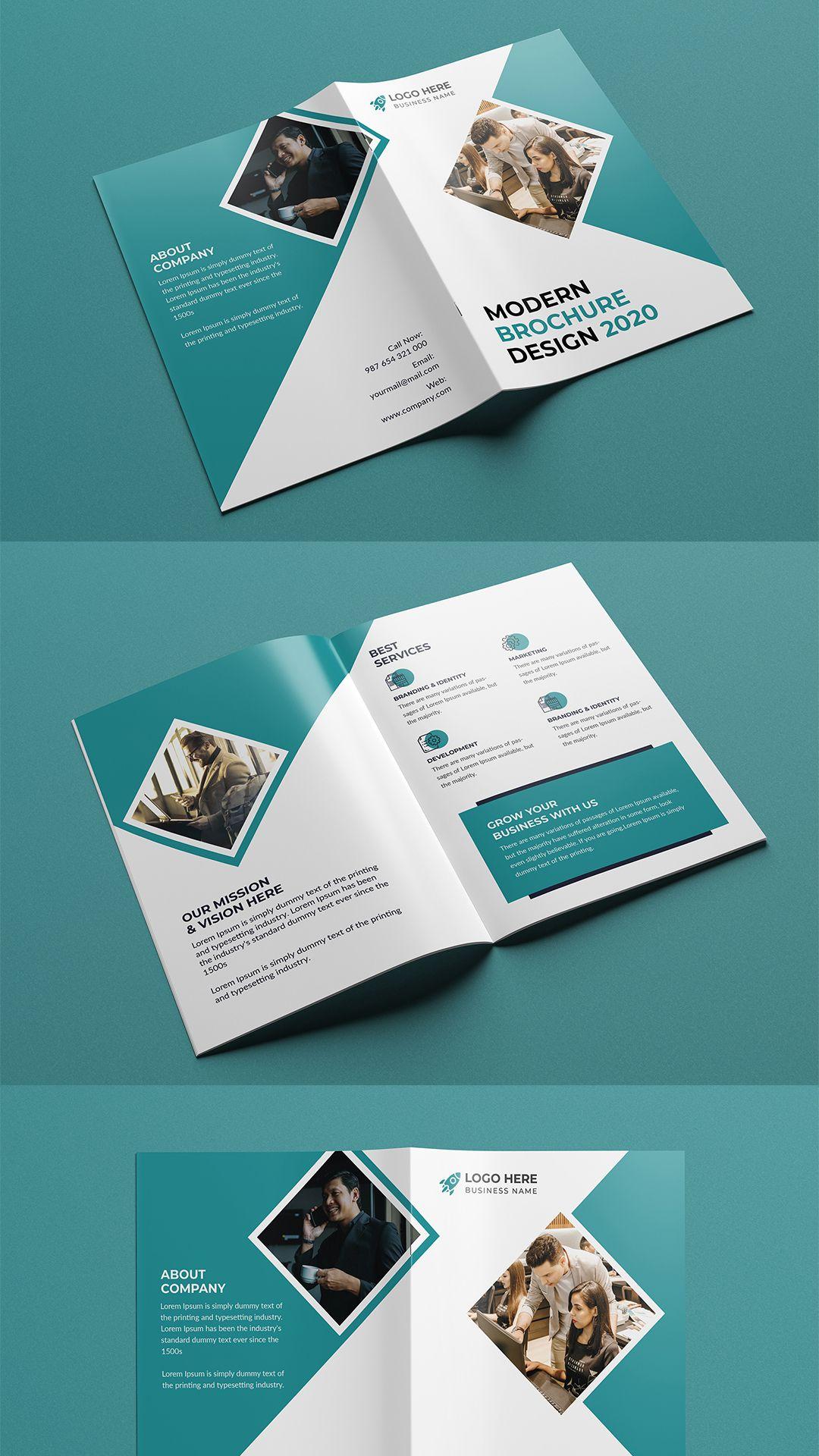 Bi Fold Brochure Bi Fold Brochure Trifold Brochure Template Brochure Template