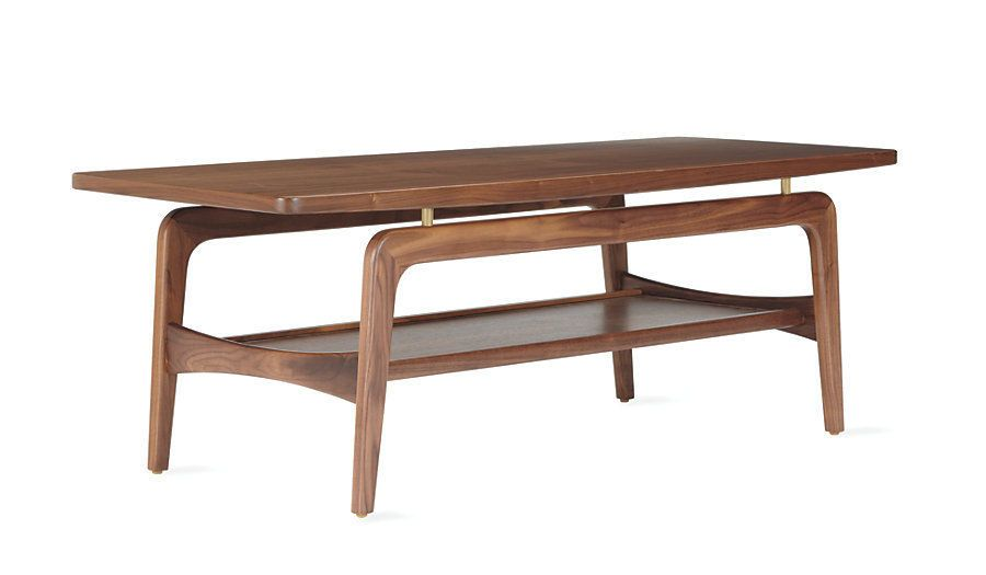 Skagen Coffee Table Walnut Modern DWR Design Within Reach Modern #Modern