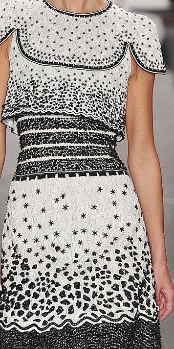 Chanel haute couture dress