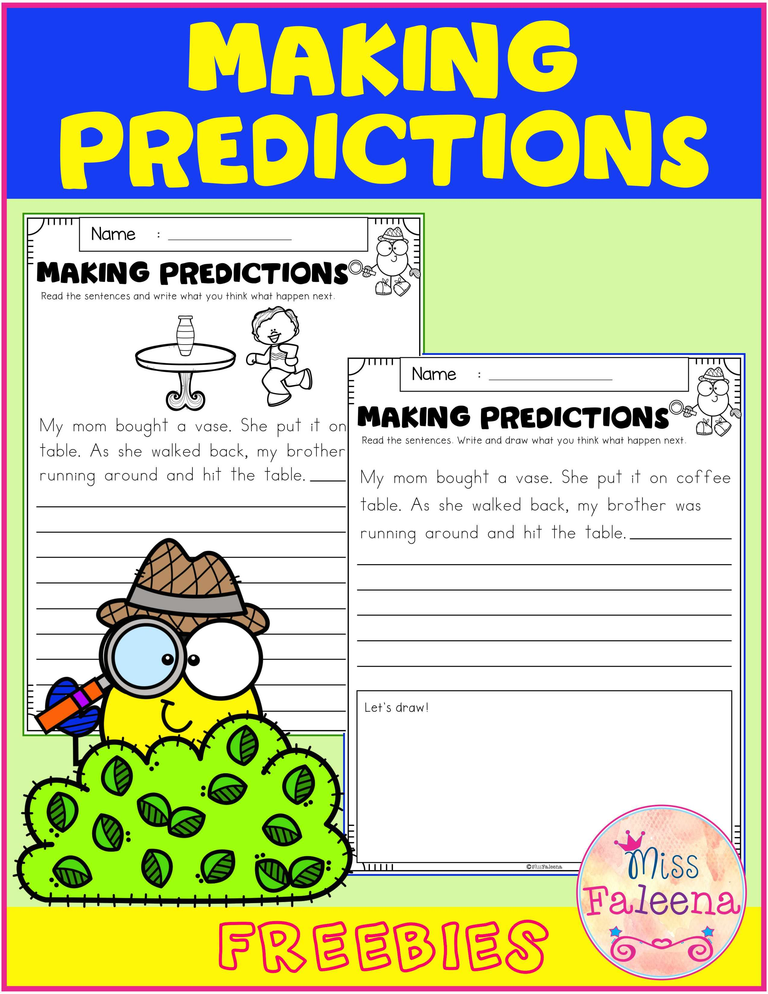 Free Making Predictions