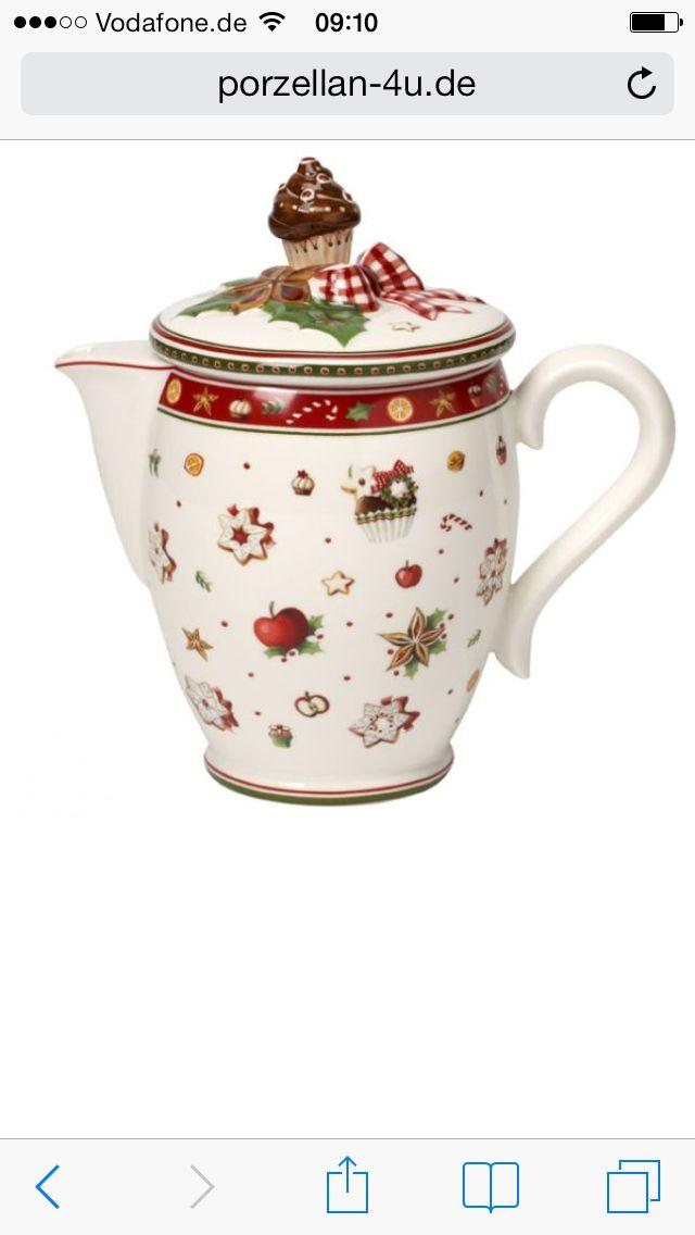 Villeroy /& Boch JOY NOEL Coffee Pot