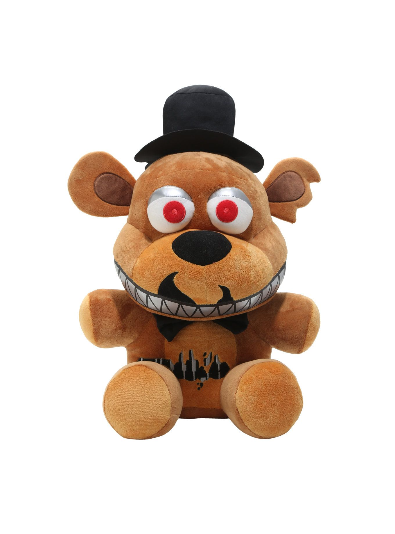 How to make your own five nights at freddys foxy plush - Funko Five Nights At Freddy S Nightmare Freddy Jumbo Plush Hot Topic Exclusive Hot Topic