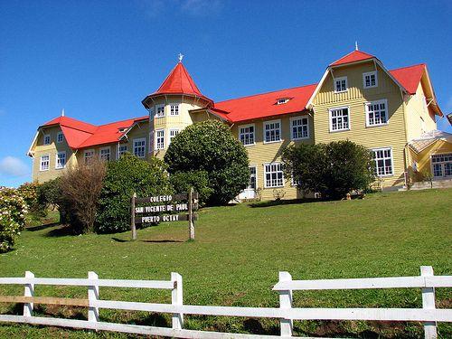 Casa Wulff. Puerto Montt Sur de Chile Sud du Chili House