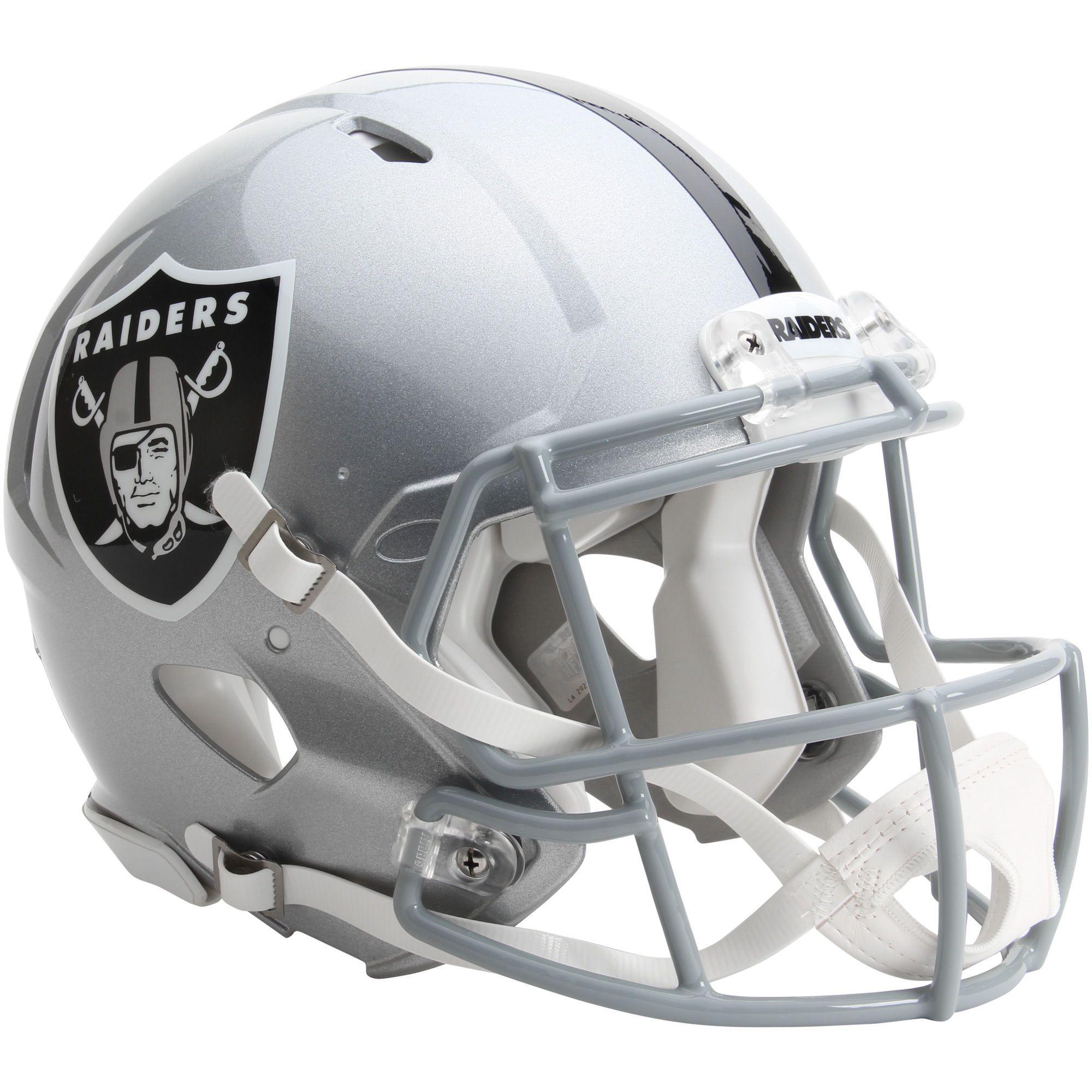 Riddell Oakland Raiders Revolution Speed Full Size Authentic Football Helmet
