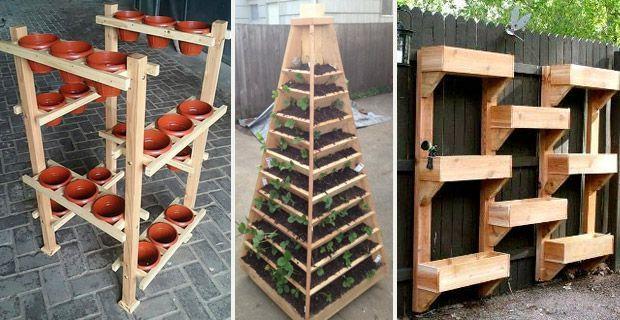 vertikaler garten ideal f r den balkon mit plastikflaschen t pfen pflanzens cken und. Black Bedroom Furniture Sets. Home Design Ideas