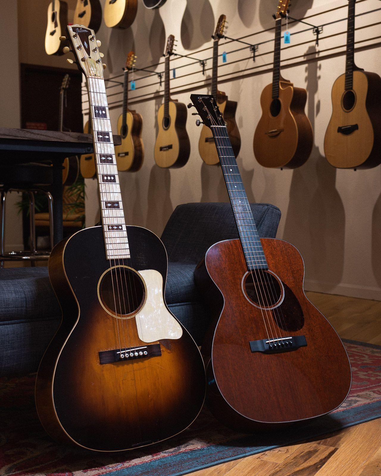 Over 100 Years Of Music History Under One Roof Shop New Used And Vintage Acoustic Guitars Today Chicagomusicexch Guitar Acoustic Acoustic Guitar