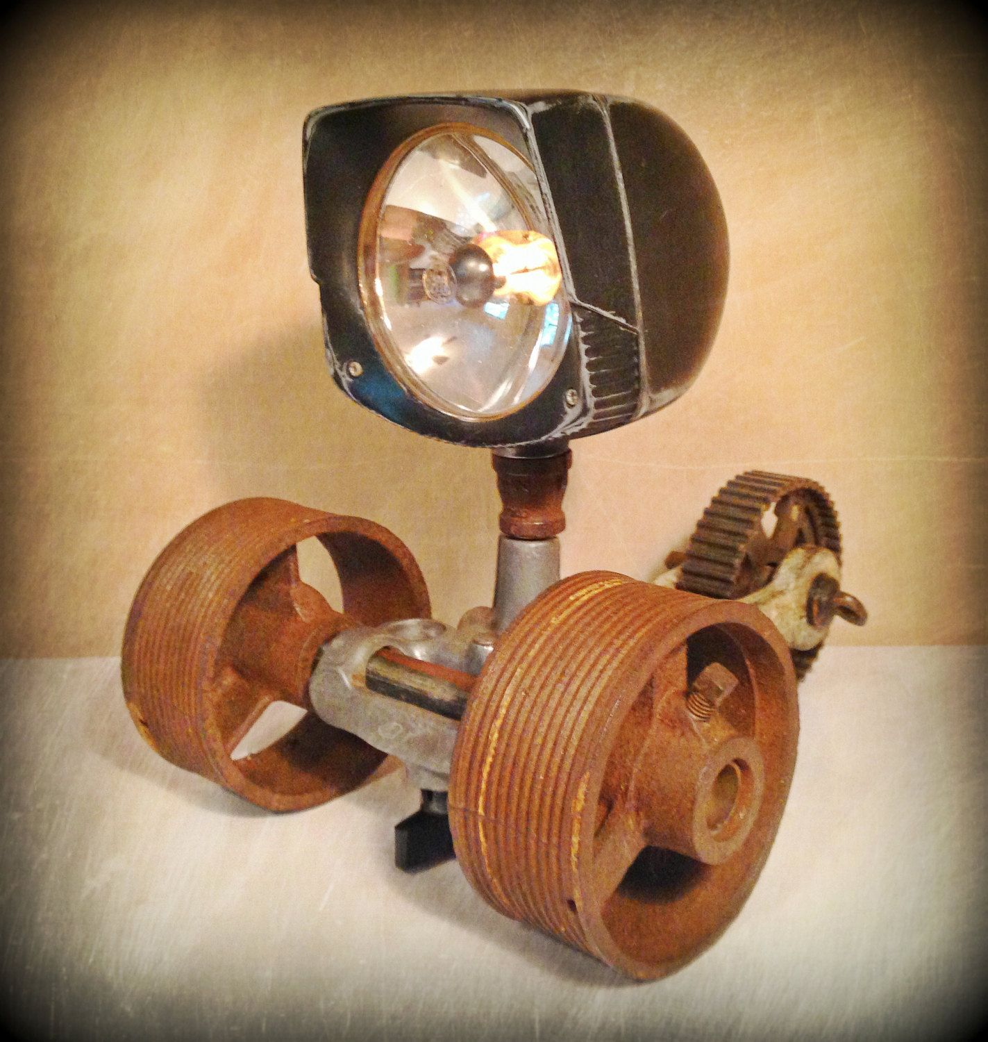 Look At This Cute Steampunk Desk Lamp Id Lights Steampunk Desk Steampunk Lamp Lamp