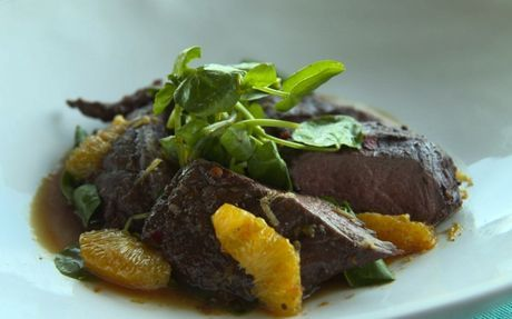 Ostrich Fillet with Ginger & Orange Sauce Recipe on Yummly