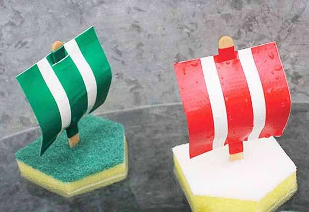 Diy outdoor projects for kids and fun water activities do it diy outdoor projects for kids and fun water activities do it yourself sponge boats at httpdiyjoyfun outdoor crafts for kids solutioingenieria Images